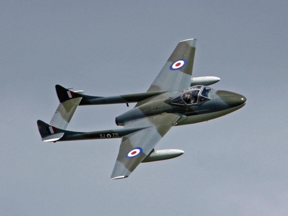 avion vampire a melun